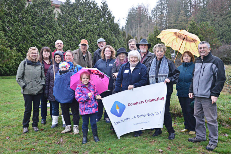 Langley Advance Times Article on Compass Cohousing